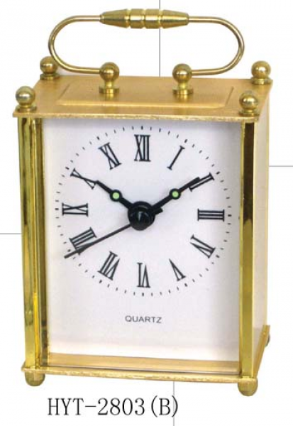 Quartz Mini Desk Clock (HYT-2803(B)) - China mini clock