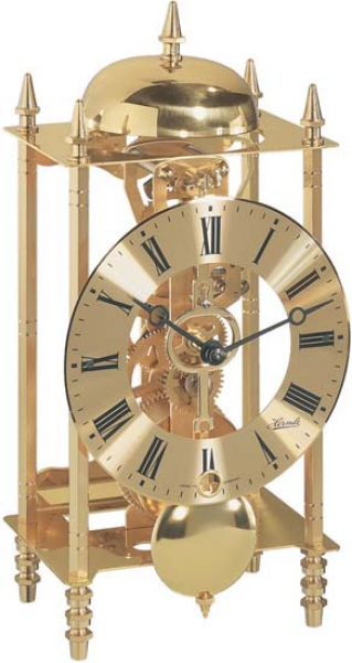 Grandfather Clocks Plus - Skeleton Table Clock by Hermle Hermle Table