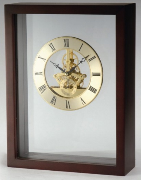 ... Skeleton Desk Clock - China Decoration Clock, Promotional Table Clock