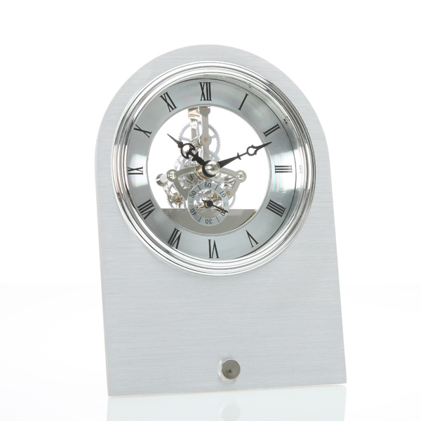 Skeleton Aluminum Table Clock - Skeleton Clock