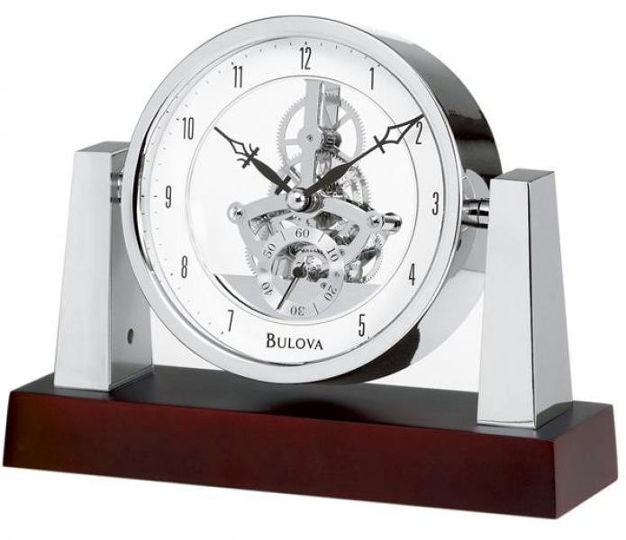 largo table clock with skeleton movement model b7520 previous in table ...
