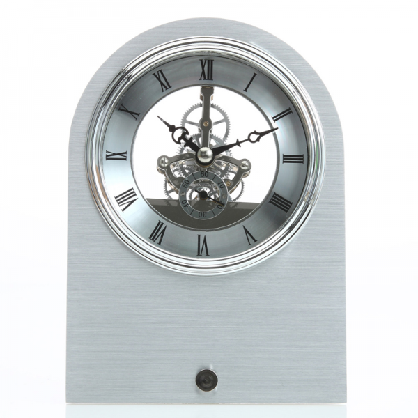... Clocks > Contemporary Clocks For Kids > Skeleton Aluminum Table Clock