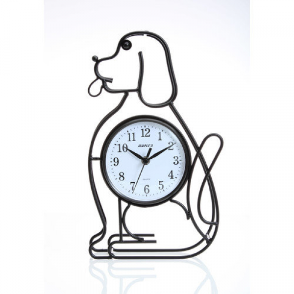 Maples Clock Silhouette Dog Table Clock - Walmart.com