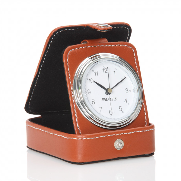 ... Decor > Clocks > Table Clocks > Maple's Clock S1026 Travel Table Alarm