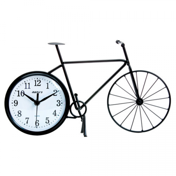 Maples Clock Silhouette Bicycle Table Clock & Reviews | Wayfair