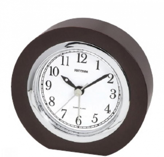 Clockway: Rhythm Wooden Table alarm clock - GTM2428