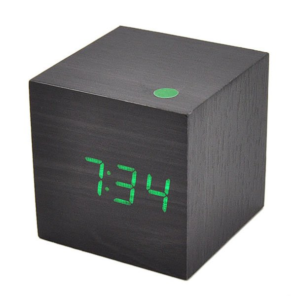 ... Wooden-LED-Clock-Digital-Table-Alarm-Wood-Clock-With-Temperature