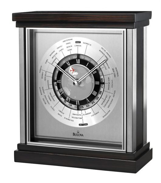 bulova wyndmere executive desk clock previous in desk clocks next in ...