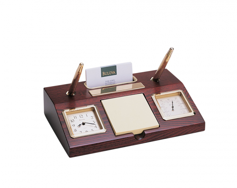 Desk Top Executive Clock | Bulova Parkston
