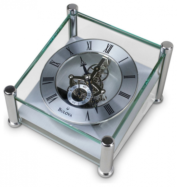 ... Skeleton Desk Clock - Contemporary - Desk And Mantel Clocks - by