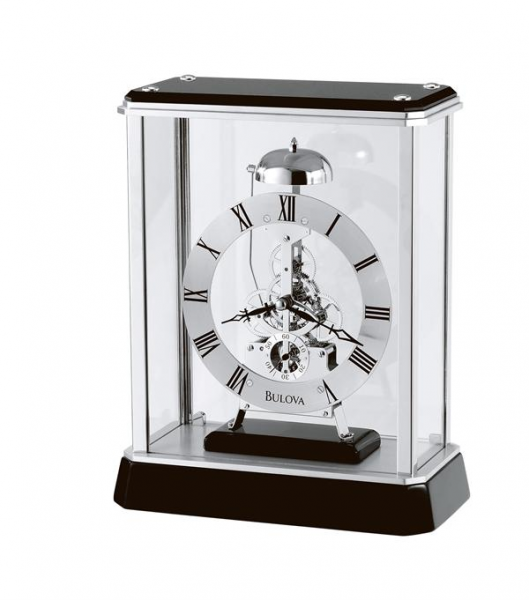 bulova vantage skeleton clock model b2023 previous in mantel clocks ...