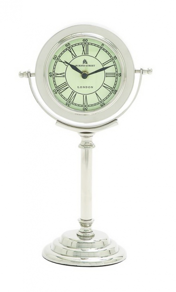 benzara 27874 modern ivory dali metal table clock by benzara see other ...