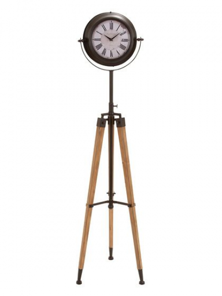 Tripod Floor Clock by UMA at Gilt | CLOCKS TO BUY or DIY | Pinterest