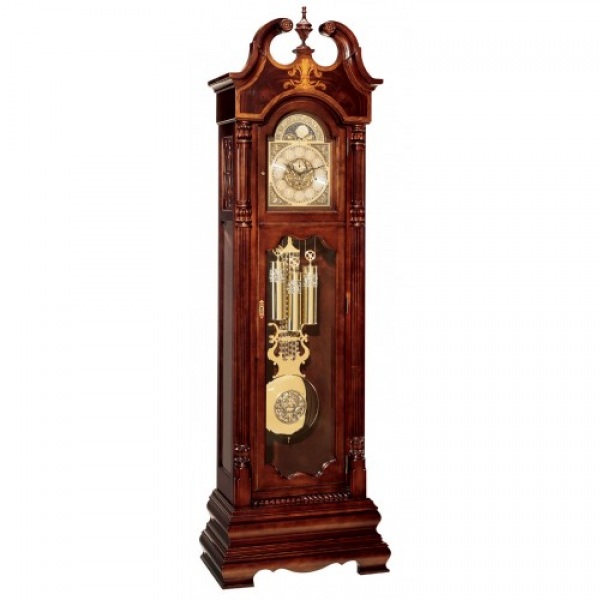 Home Castleton Floor Grandfather Clock by Hermle