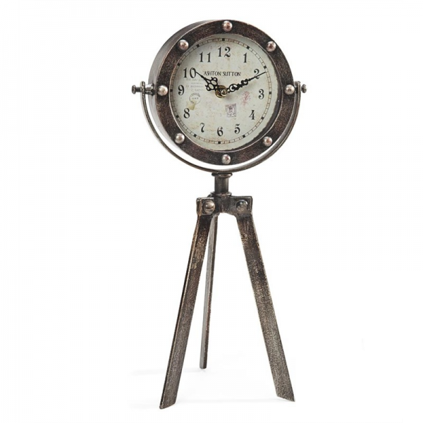 Home > For the Home > Home Accessories > Clocks > Tripod Table Clock