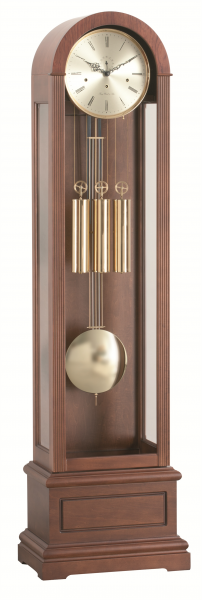 Hermle - Walnut Finish, Brass Accents, New London 01197Q10461 - The ...