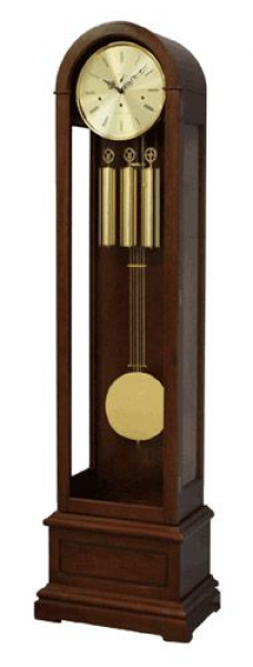 Hermle New London Floor Clock - simplicity is its forte with brass ...