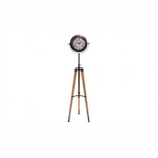 Benzara Antiqued Metal Tripod Floor Clock 62inH, 16inW - Pricefalls ...