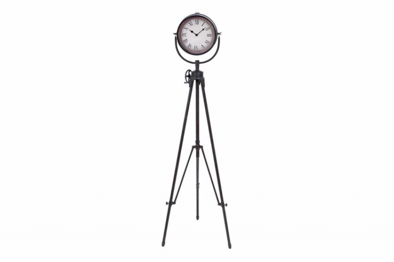 Home Decor Clocks Metal Floor Clock 57 Inch Height, 17 Inch Width ...