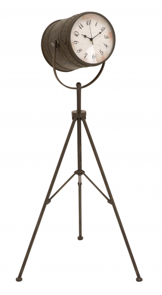 Tripod-Clock-with-Long-Life-and-An-Old-Aged-Finish