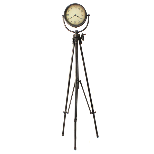 ... Studio Tripod Floor Clock - Overstock Shopping - Great Deals on Clocks