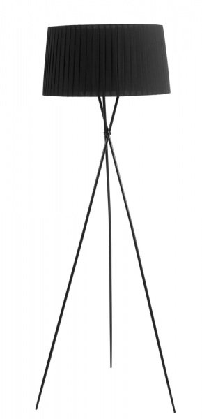 tripod floor light black - dwell