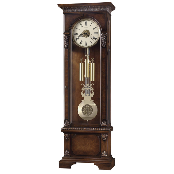 Howard Miller Lisbon Floor Clock Tuscany Cherry 611-094 triple chime