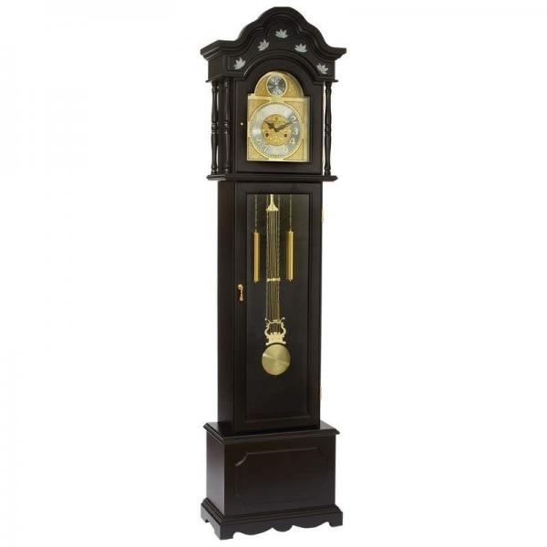 Details about Edward Meyer Grandfather Clock with Mother-of-Pear l ...