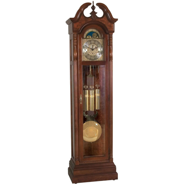 Ridgeway | Martinsville Grandfather Clock Glen Arbor Cherry 2505
