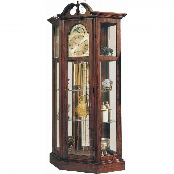 Ridgeway Curio Grandfather Clock - 9701 Richardson I