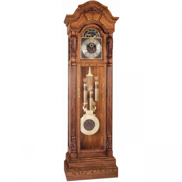 Ridgeway | Oakmont Grandfather Clock Treasure Oak 2514
