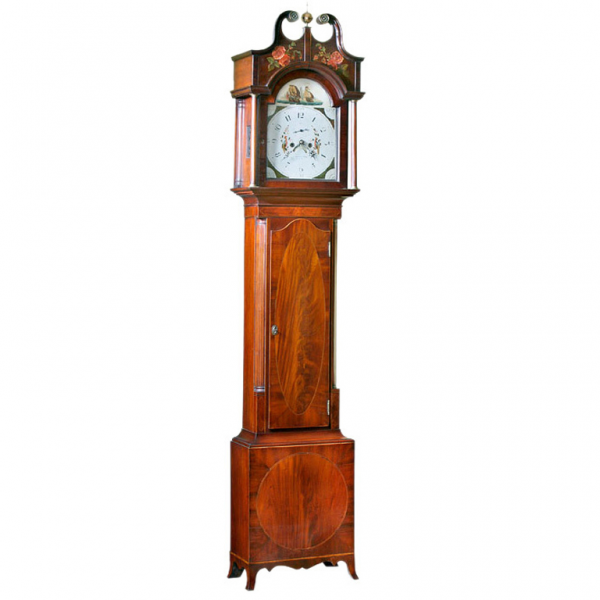 New York Federal Grandfather Clock at 1stdibs