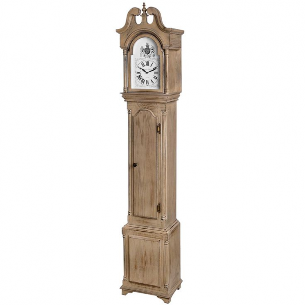 New Traditional Limed Oak Grandfather Clock Dimensions: (H) 191cm (W ...