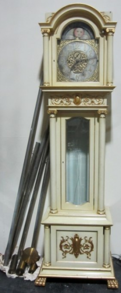Nelson H. Brown Grandfather Clock : Lot 179