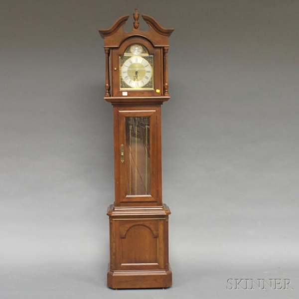 Ethan Allen Tempus Fugit Grandfather Floor Clock, ht. : Lot 530