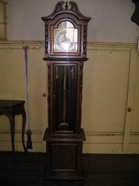 & Longcase Clocks - Tempus Fugit Blessing Longcase Grandfather Clock ...