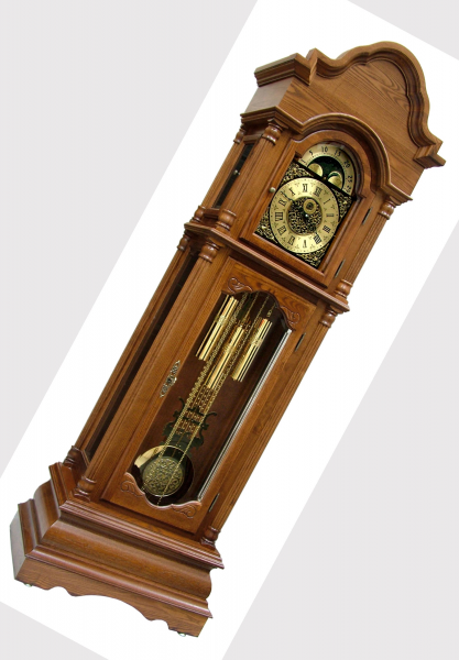 Tempus fugit grandfather clock: