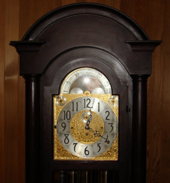 ... grandfather clock moon phase antique clocks antique grandfather