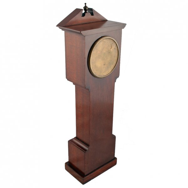 Antique Miniature Grandfather Clock | Edwardian Miniature Clock