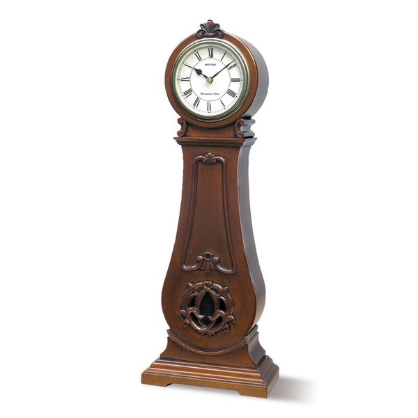 ... & Woodhouse - Home Decor > Clocks > Small Rhythm Grandfather Clock