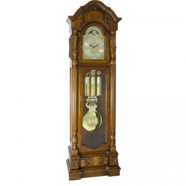 Home Anstead Floor Grandfather Clock by Hermle