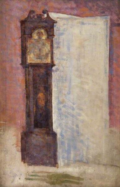 BBC - Your Paintings - The Grandfather Clock