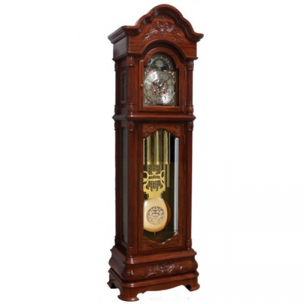 Home Worcester Floor Grandfather Clock by Hermle