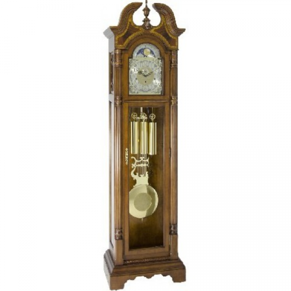 Home Hallmark Floor Grandfather Clock by Hermle
