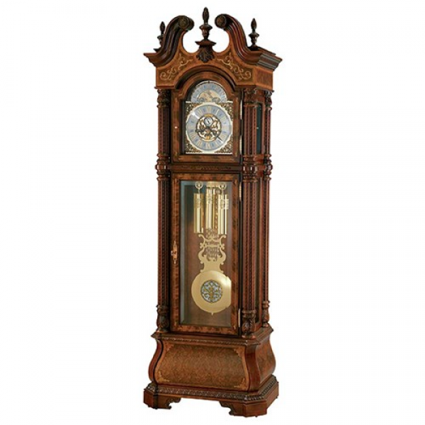 The J. H. Miller Grandfather Clock - Clocks by Howard Miller - Wilcox ...