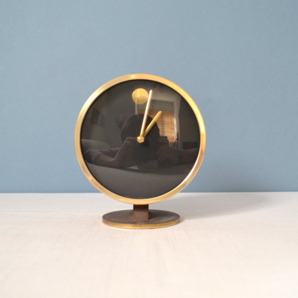 Vintage Howard Miller Museum Clock by Nathan by MidModMomStore