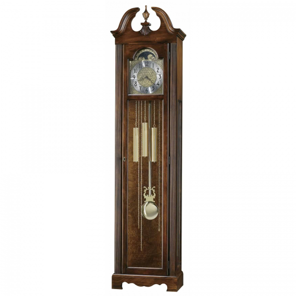 Howard Miller Princeton 611-138 Quartz Grandfather Clock Cherry finish