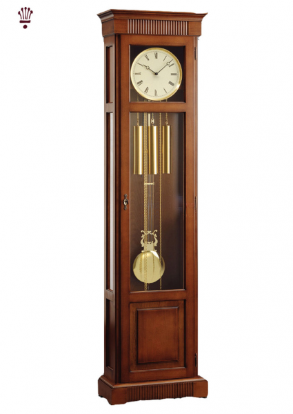 Harrison Antique Cherry Finish Grandfather Clock