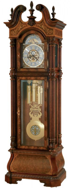 Limited-Edition Rare Wood Grandfather Clock - Grandfather Clock ...