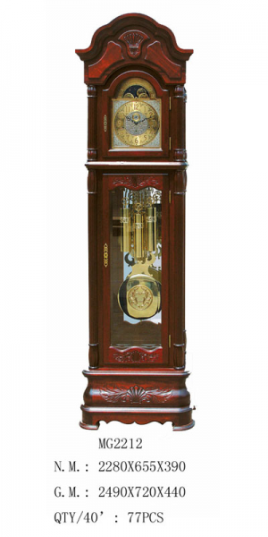 ... Wood Grandfather Clock (MG2212) - China Grandfather Clock, Wood Clock
